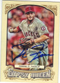 DAVID FREESE LOS ANGELES ANGELS OF ANAHEIM AUTOGRAPHED BASEBALL CARD #50415B