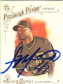 FRANCISCO LIRIANO PITTSBURGH PIRATES AUTOGRAPHED BASEBALL CARD #50415D