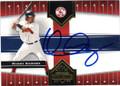 MANNY RAMIREZ BOSTON RED SOX AUTOGRAPHED BASEBALL CARD #50515B