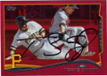 TRAVIS SNIDER PITTSBURGH PIRATES AUTOGRAPHED BASEBALL CARD #52015G