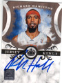 RICHARD HAMILTON DETROIT PISTONS AUTOGRAPHED & NUMBERED BASKETBALL CARD #52015J