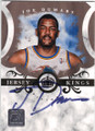 JOE DUMARS DETROIT PISTONS AUTOGRAPHED & NUMBERED BASKETBALL CARD #52115C