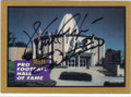 WALTER PAYTON CHICAGO BEARS AUTOGRAPHED FOOTBALL CARD #53015A