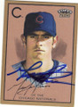 MARK PRIOR CHICAGO CUBS AUTOGRAPHED BASEBALL CARD #53115C