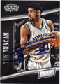 TIM DUNCAN SAN ANTONIO SPURS AUTOGRAPHED BASKETBALL CARD #53115E