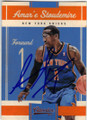 AMAR'E STOUDEMIRE NEW YORK KNICKS AUTOGRAPHED BASKETBALL CARD #60115A