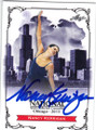 NANCY KERRIGAN AUTOGRAPHED FIGURE SKATING CARD #60315A