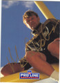 MORTON ANDERSEN NEW ORLEANS SAINTS AUTOGRAPHED FOOTBALL CARD #60415F