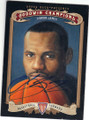 LeBRON JAMES AUTOGRAPHED BASKETBALL CARD #60815D