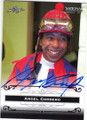 ANGEL CORDERO HORSE RACING JOCKEY AUTOGRAPHED CARD #60815J