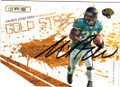 MAURICE JONES-DREW JACKSONVILLE JAGUARS AUTOGRAPHED & NUMBERED FOOTBALL CARD #60915G