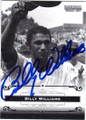 BILLY WILLIAMS CHICAGO CUBS AUTOGRAPHED BASEBALL CARD #61015A