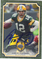 AARON RODGERS GREEN BAY PACKERS AUTOGRAPHED FOOTBALL CARD #61015C