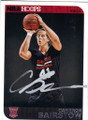 CAMERON BAIRSTOW CHICAGO BULLS AUTOGRAPHED ROOKIE BASKETBALL CARD #61015i