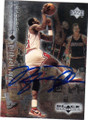 MICHAEL JORDAN CHICAGO BULLS AUTOGRAPHED BASKETBALL CARD #61315A