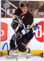 MATT COOKE PITTSBURGH PENGUINS AUTOGRAPHED HOCKEY CARD #61315G
