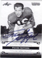 FRANK GIFFORD NEW YORK GIANTS AUTOGRAPHED FOOTBALL CARD #61615A