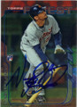 NICK CASTELLANOS DETROIT TIGERS AUTOGRAPHED ROOKIE BASEBALL CARD #61715A