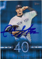 CC SABATHIA NEW YORK YANKEES AUTOGRAPHED BASEBALL CARD #61715B