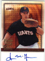 SEAN McGOWAN SAN FRANCISCO GIANTS AUTOGRAPHED BASEBALL CARD #62415G