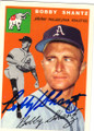 BOBBY SHANTZ PHILADELPHIA ATHLETICS AUTOGRAPHED BASEBALL CARD #62415i