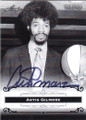ARTIS GILMORE AUTOGRAPHED BASKETBALL CARD #63015C