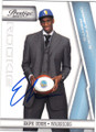 EKPE UDOH GOLDEN STATE WARRIORS AUTOGRAPHED & NUMBERED ROOKIE BASKETBALL CARD #70315B