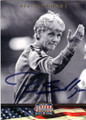PIA SUNDHAGE USA WOMENS NATIONAL TEAM AUTOGRAPHED SOCCER CARD #70715F