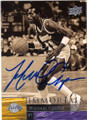 MICHAEL COOPER LOS ANGELES LAKERS AUTOGRAPHED BASKETBALL CARD #70715K