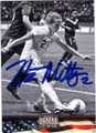 HEATHER MITTS USA WOMENS SOCCER AUTOGRAPHED CARD #70915F