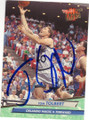 TOM TOLBERT ORLANDO MAGIC AUTOGRAPHED BASKETBALL CARD #70915M