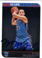 MITCH McGARY OKLAHOMA CITY THUNDER AUTOGRAPHED ROOKIE BASKETBALL CARD #71415G