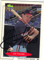 JIM THOME CLEVELAND INDIANS AUTOGRAPHED ROOKIE BASEBALL CARD #71915G