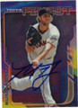 MADISON BUMGARNER SAN FRANCISCO GIANTS AUTOGRAPHED BASEBALL CARD #71915i