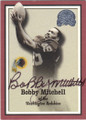 BOBBY MITCHELL WASHINGTON REDSKINS AUTOGRAPHED FOOTBALL CARD #72115F