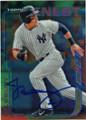JACOBY ELLSBURY NEW YORK YANKEES AUTOGRAPHED BASEBALL CARD #72215E