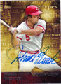 JOHNNY BENCH CINCINNATI REDS AUTOGRAPHED BASEBALL CARD #72215F
