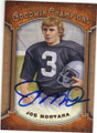 JOE MONTANA SAN FRANCISCO 49ers AUTOGRAPHED FOOTBALL CARD #72215G