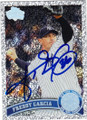 FREDDY GARCIA NEW YORK YABKEES AUTOGRAPHED BASEBALL CARD #72215i