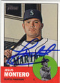 JESUS MONTERO SEATTLE MARINERS AUTOGRAPHED BASEBALL CARD #72715A