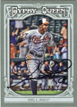 ADAM JONES BALTIMORE ORIOLES AUTOGRAPHED BASEBALL CARD #72915E