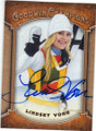 LINDSEY VONN OLYMPIC ALPINE SKIIER AUTOGRAPHED CARD #73115F