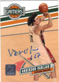 ANDERSON VAREJAO CLEVELAND CAVALIERS AUTOGRAPHED & NUMBERED BASKETBALL CARD #80315i