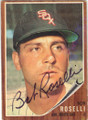 BOB ROSELLI CHICAGO WHITE SOX AUTOGRAPHED VINTAGE BASEBALL CARD #81215C