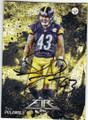 TROY POLAMALU PITTSBURGH STEELERS AUTOGRAPHED FOOTBALL CARD #81915B