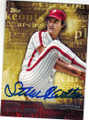 STEVE CARLTON PHILADELPHIA PHILLIES AUTOGRAPHED BASEBALL CARD #81915C