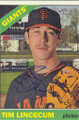 TIM LINCECUM SAN FRANCISCO GIANTS AUTOGRAPHED BASEBALL CARD #82115D