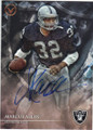 MARCUS ALLEN LOS ANGELES RAIDERS AUTOGRAPHED FOOTBALL CARD #82115K