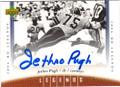 JETHRO PUGH DALLAS COWBOYS AUTOGRAPHED FOOTBALL CARD #82915E