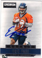 ERIC PAGE DENVER BRONCOS AUTOGRAPHED ROOKIE FOOTBALL CARD #82915i
